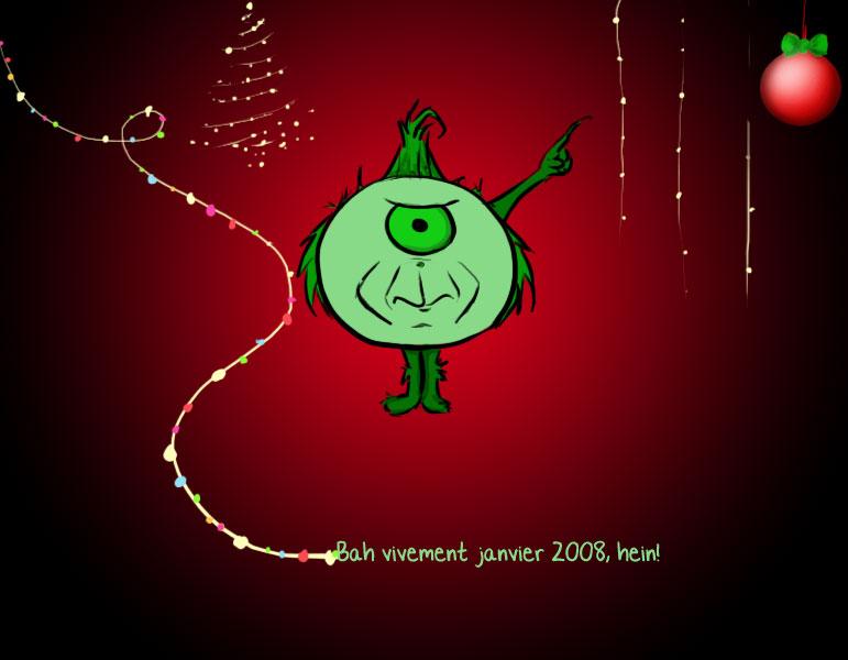 Cissou vous souhaite de bonnes fetes 2007
