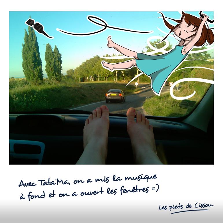 Les pieds de Cissou partent en vacances 2
