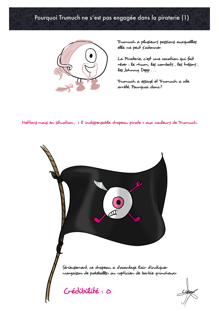 Drapeau Pirate de Trumuch