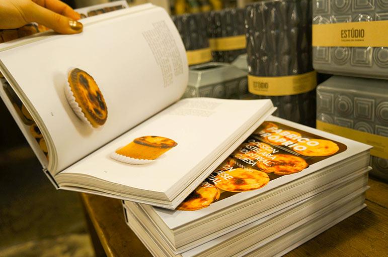 Boutique de souvenirs A vida Portuguesa - 6 (Recettes de Pasteis de Nata)