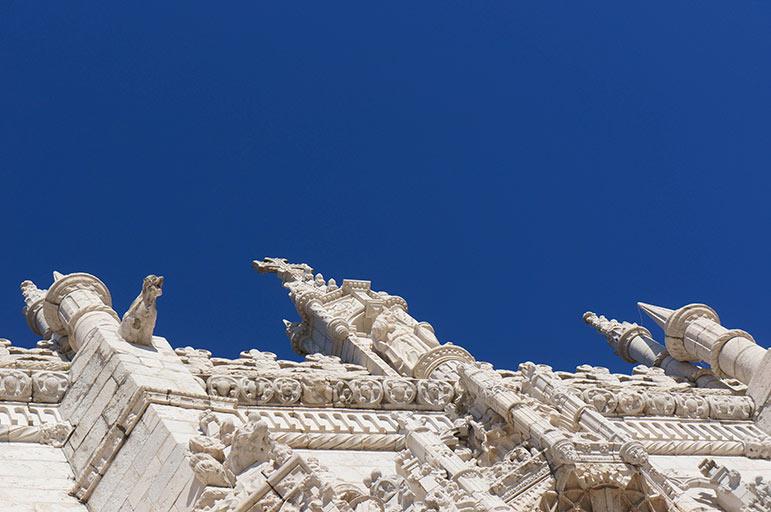 Mosteiro dos Jerónimos - façade extérieure