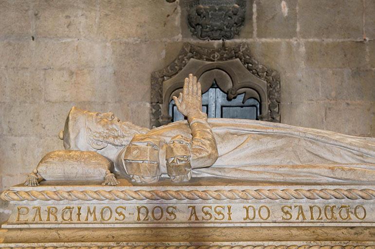 Mosteiro dos Jerónimos - tombeau de Vasco de Gama