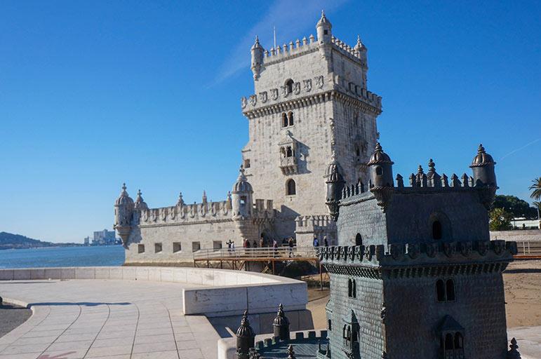 Tour de Belém (et sa maquette)
