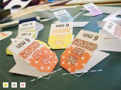 Etape 7 : Les étiquettes (suite)