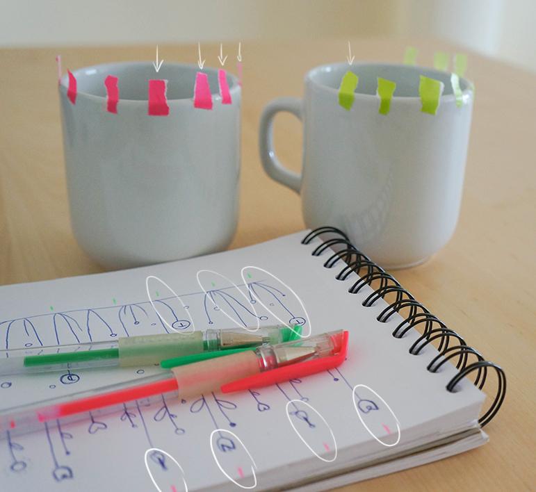 DIY Mugs - marqueurs