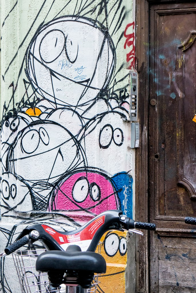 Rue de la bourse - Toulouse
