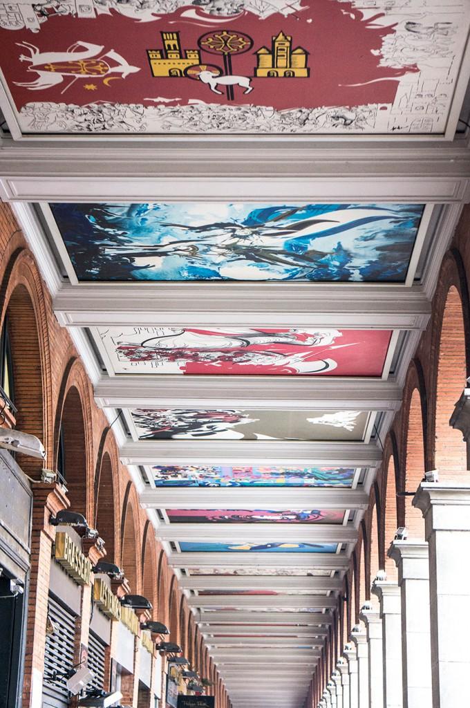 Arcades de la place du Capitole - Toulouse