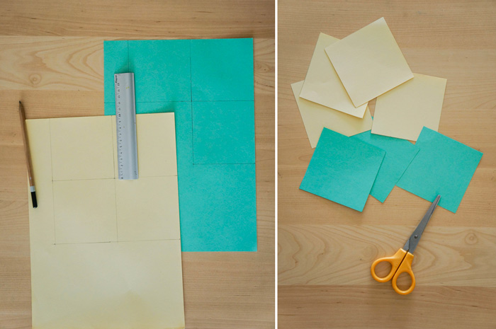01 découper des carrés
